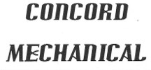 Concord Mechanical Ad